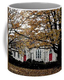 Fall At Church Coffee Mug