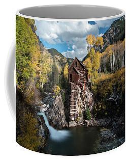 Fall At Crystal Mill Coffee Mug