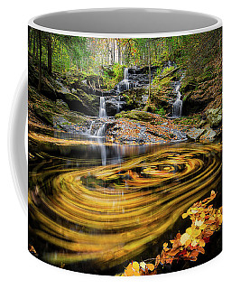Fall At Garwin Falls Coffee Mug