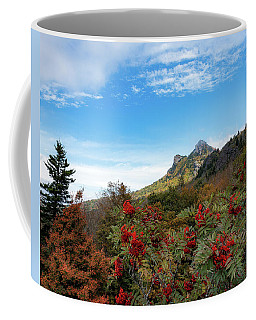 Fall At Grandfather Mountain Coffee Mug