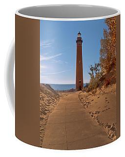 Fall At Little Point Sable Light Coffee Mug