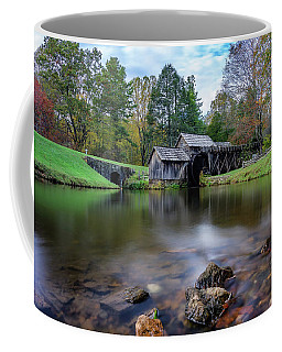 Fall At Mabry Mill Coffee Mug