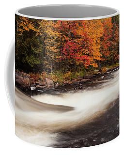 Fall At Oxtongue Rapids Coffee Mug