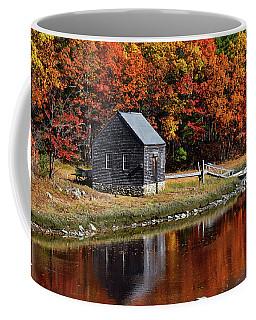 Fall At Rye Coffee Mug