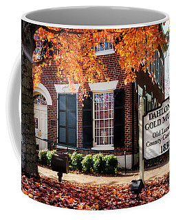 Fall At The Gold Museum Coffee Mug