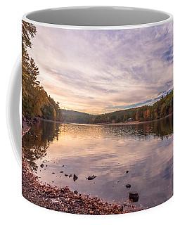Fall At The Pond Coffee Mug