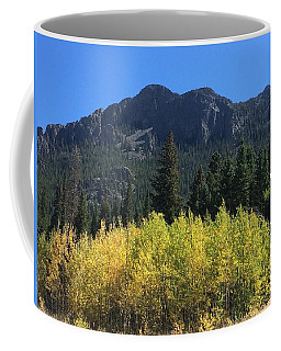 Fall At Twin Sisters Coffee Mug