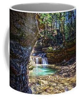 Fall Below Old Mans Cave Coffee Mug