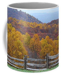 Coffee Mug featuring the photograph Fall Blend by Eric Liller