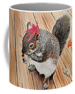 Fall Bonnet Coffee Mug