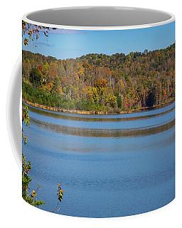 Fall Color At Lake Zwerner Coffee Mug