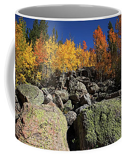 Fall Color In The Rocky Mountains Coffee Mug
