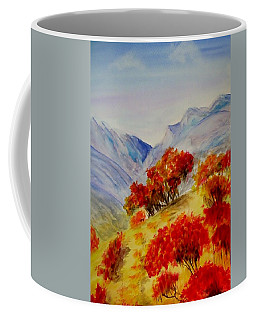 Coffee Mug featuring the painting Fall Color by Jamie Frier