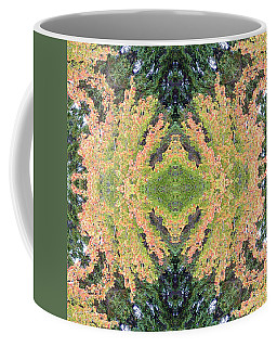 Coffee Mug featuring the photograph Fall Color Kaleidoscope by Bill Barber