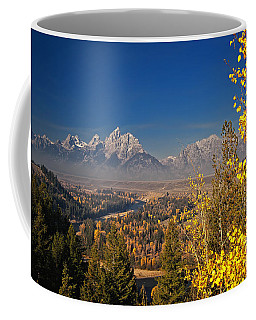 Fall Colors At The Snake River Overlook Coffee Mug