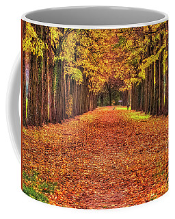 Fall Colors Avenue Coffee Mug