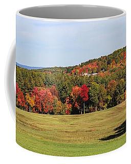 Fall Colors In Easthampton Coffee Mug