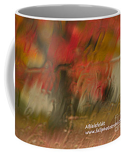 Fall Colors In The Rain Coffee Mug