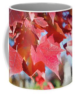 Fall Colors Oil Coffee Mug