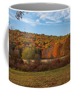Fall Colors On Great Blue Hill Coffee Mug