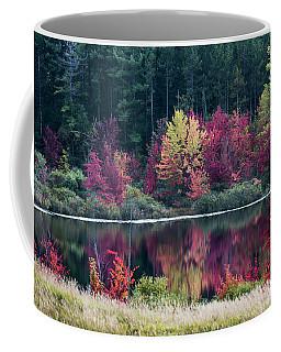 Fall Colors - Thompson Lake 7581 Coffee Mug