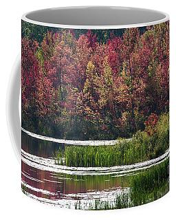 Fall Colours - Thompson Lake 7619 Coffee Mug