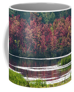 Fall Colours - Thompson Lake 7623 Coffee Mug