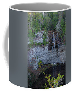 Coffee Mug featuring the photograph Fall Creek Falls, Tennessee by Donna Brown