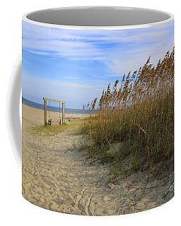 Fall Day On Tybee Island Coffee Mug