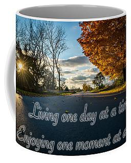 Fall Day With Saying Coffee Mug