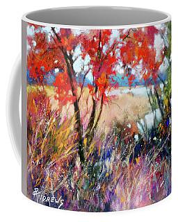 Fall Drama Coffee Mug by Rae Andrews