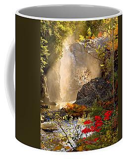 Fall Falls Mist  Dead River Falls  Marquette Mi Coffee Mug