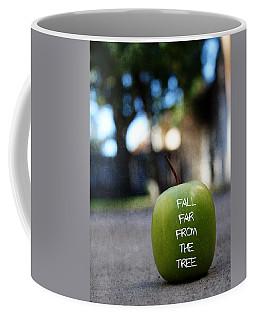 Fall Far From The Tree- Art By Linda Woods Coffee Mug