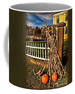 Fall Fence At Hale Farm Coffee Mug