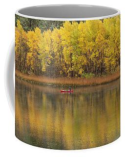 Fall Fishing Coffee Mug