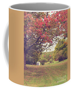 Fall Foliage And Old New England Shed Coffee Mug by Edward Fielding
