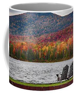Fall Foliage At Noyes Pond Coffee Mug
