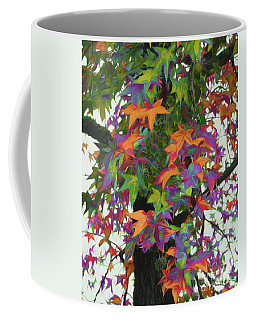 Fall Foliage - Colors Of The Gumball Tree Coffee Mug