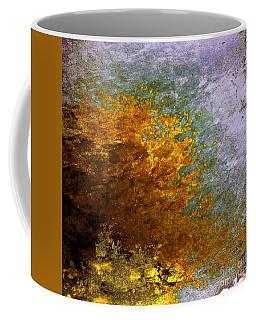 Coffee Mug featuring the digital art Fall Foliage by John Krakora