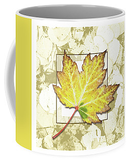 Fall Gold Coffee Mug