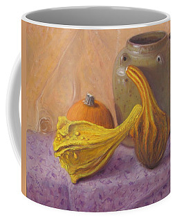 Coffee Mug featuring the painting Fall Harvest #4 by Donelli  DiMaria