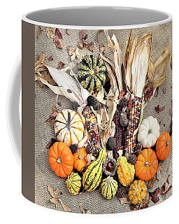 Coffee Mug featuring the photograph Fall Harvest by Sheila Brown