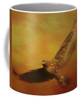 Fall Hawk Coffee Mug