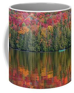 Fall In A Canoe Coffee Mug