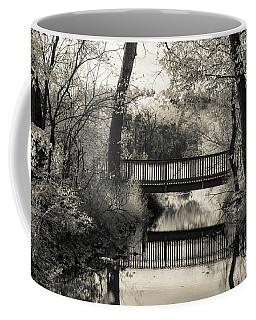 Fall In Black And White Coffee Mug
