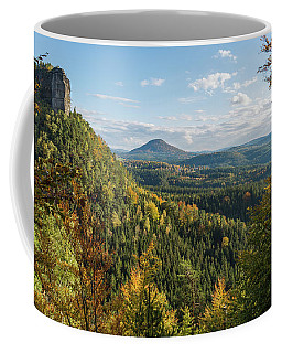 Fall In Bohemian Switzerland Coffee Mug