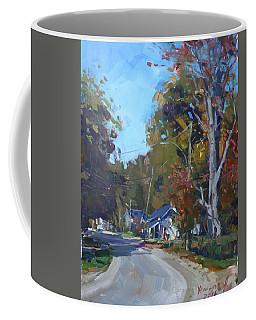 Fall In Glen Williams On Coffee Mug