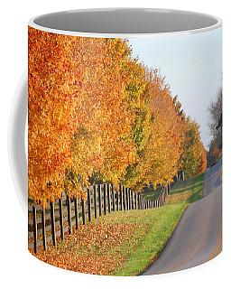 Fall In Horse Farm Country Coffee Mug