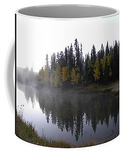 Kiddie Pond Fall Colors Divide Co Coffee Mug