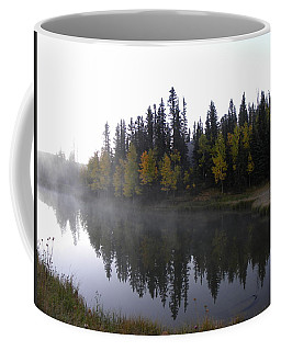 Kiddie Pond Fall Colors Divide Co Coffee Mug